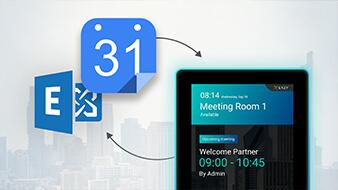 เชื่อมต่อ ระบบจองห้องประชุม กับ MS Exchange, Microsoft Outlook Office 365 และ Google Calendar