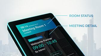ระบบจองห้องประชุม แสดงสถานะห้องประชุม แบบอัจฉริยะ