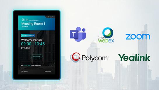 ระบบ VDO Conference สำหรับระบบจองห้องประชุม Meet in Touch