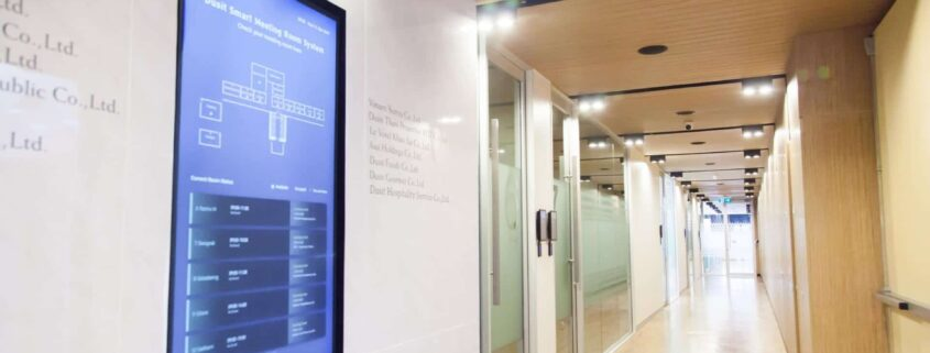 Dusit International มั่นใจเลือกใช้ระบบจองห้องประชุม Meet in Touch